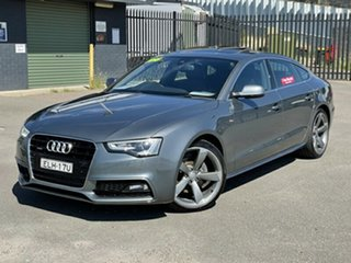2015 Audi A5 8T MY16 Sportback S Tronic Quattro Grey 7 Speed Sports Automatic Dual Clutch Hatchback.