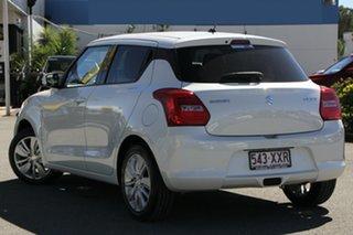 2017 Suzuki Swift AZ GL Navigator Snow White Pearl 1 Speed Constant Variable Hatchback.
