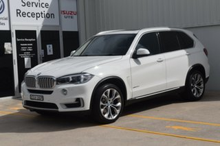 2013 BMW X5 F15 xDrive30d White 8 Speed Automatic Wagon