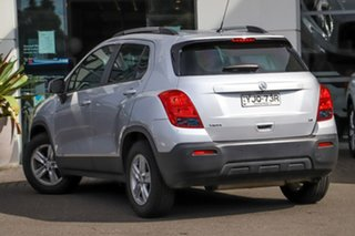 2016 Holden Trax TJ MY16 LS Silver, Chrome 6 Speed Automatic Wagon.