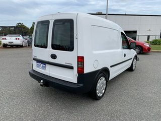 2007 Holden Combo XC MY08 White 5 Speed Manual Van