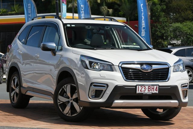 Used Subaru Forester S5 MY20 2.5i-S CVT AWD Newstead, 2020 Subaru Forester S5 MY20 2.5i-S CVT AWD White 7 Speed Constant Variable Wagon