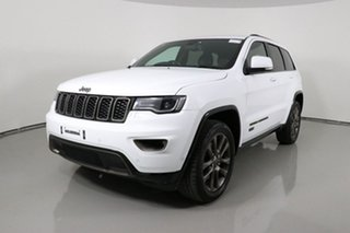 2016 Jeep Grand Cherokee WK MY16 75th Anniversary (4x4) White 8 Speed Automatic Wagon.