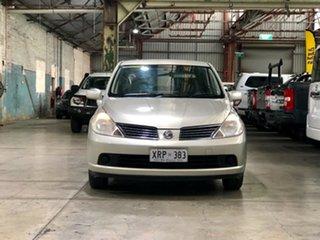 2008 Nissan Tiida C11 MY07 ST Beige 4 Speed Automatic Sedan.