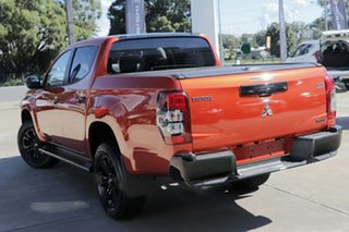 2021 Mitsubishi Triton MR MY21 GSR Double Cab Sunflare Orange & Black Roof 6 Speed Sports Automatic.