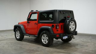2014 Jeep Wrangler JK MY2015 Sport Red 6 Speed Manual Softtop.