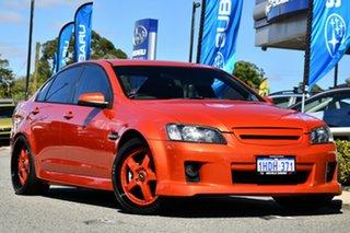 2006 Holden Commodore VE SS Orange 6 Speed Sports Automatic Sedan.