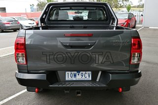 2019 Toyota Hilux GUN126R Rugged Double Cab Graphite 6 Speed Sports Automatic Utility