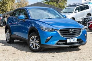 2018 Mazda CX-3 DK2W7A Maxx SKYACTIV-Drive FWD Sport Dynamic Blue 6 Speed Sports Automatic Wagon.