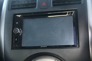 2012 Nissan Almera N17 TI Black 4 Speed Automatic Sedan