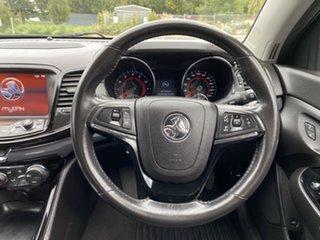 2016 Holden Commodore VF II MY16 SV6 Black Heron White 6 Speed Sports Automatic Sedan
