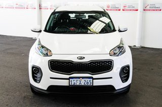2017 Kia Sportage QL MY17 SI (FWD) White 6 Speed Automatic Wagon.