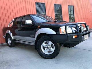 2011 Nissan Navara D22 MY2010 ST-R Black 5 Speed Manual Utility.