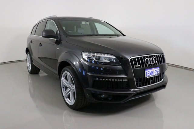 Used Audi Q7 MY14 3.0 TDI Quattro Bentley, 2014 Audi Q7 MY14 3.0 TDI Quattro Grey 8 Speed Automatic Tiptronic Wagon