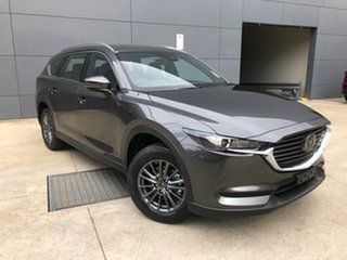 2021 Mazda CX-8 KG2WLA Sport SKYACTIV-Drive FWD Machine Grey 6 Speed Sports Automatic Wagon.