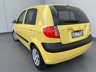 2009 Hyundai Getz TB MY09 S Yellow 4 Speed Automatic Hatchback