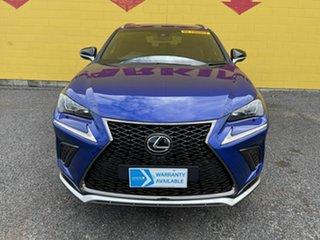 2018 Lexus NX AGZ15R NX300 AWD Sports Luxury Blue 6 Speed Sports Automatic Wagon.