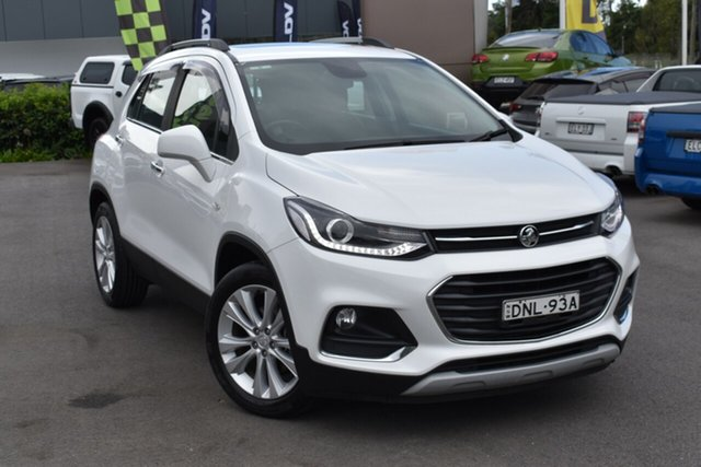 Used Holden Trax TJ MY17 LT Tuggerah, 2017 Holden Trax TJ MY17 LT White 6 Speed Automatic Wagon