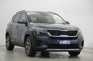 2020 Kia Seltos SP2 MY21 Sport+ 2WD Grey 1 Speed Constant Variable Wagon
