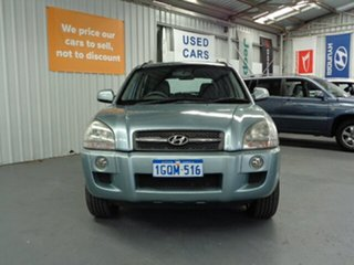 2008 Hyundai Tucson JM MY09 SX Blue 4 Speed Sports Automatic Wagon.