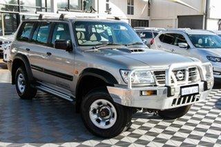 2001 Nissan Patrol GU II ST Gold 4 Speed Automatic Wagon.