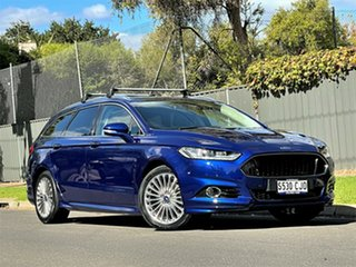 2017 Ford Mondeo MD 2017.00MY Titanium Blue 6 Speed Sports Automatic Dual Clutch Wagon.