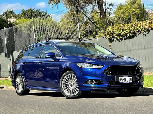 Used Ford Mondeo MD 2017.00MY Titanium Hyde Park, 2017 Ford Mondeo MD 2017.00MY Titanium Blue 6 Speed Sports Automatic Dual Clutch Wagon