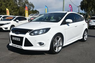 2012 Ford Focus LW Titanium PwrShift White 6 Speed Sports Automatic Dual Clutch Hatchback