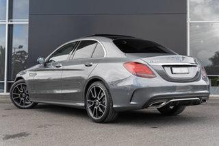 2021 Mercedes-Benz C-Class W205 801MY C300 9G-Tronic Selenite Grey 9 Speed Sports Automatic Sedan.