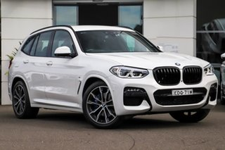 2020 BMW X3 G01 xDrive30i Steptronic M Sport White 8 Speed Sports Automatic Wagon.