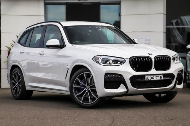 Used BMW X3 G01 xDrive30i Steptronic M Sport Sutherland, 2020 BMW X3 G01 xDrive30i Steptronic M Sport White 8 Speed Sports Automatic Wagon