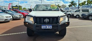 2013 Toyota Landcruiser Prado KDJ150R MY14 GX White 5 Speed Sports Automatic Wagon.