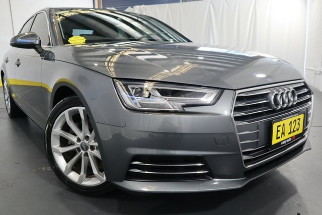 Used Audi A4 B9 8W MY16 Sport S Tronic Castle Hill, 2016 Audi A4 B9 8W MY16 Sport S Tronic Grey 7 Speed Sports Automatic Dual Clutch Sedan
