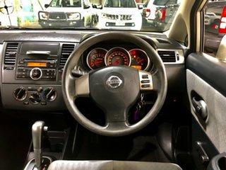 2008 Nissan Tiida C11 MY07 ST Beige 4 Speed Automatic Sedan