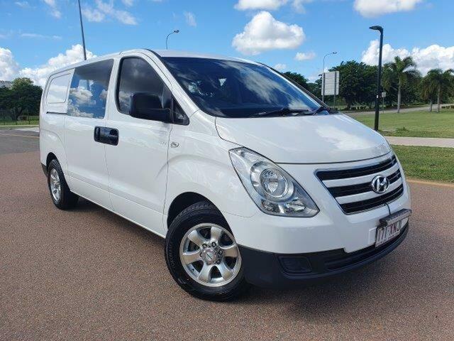 Used Hyundai iLOAD TQ3-V Series II MY18 Townsville, 2017 Hyundai iLOAD TQ3-V Series II MY18 Creamy White 5 Speed Automatic Van