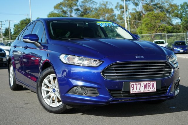Used Ford Mondeo MD Ambiente Hillcrest, 2016 Ford Mondeo MD Ambiente Blue 6 Speed Sports Automatic Dual Clutch Hatchback