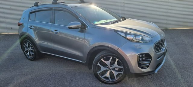 Used Kia Sportage QL MY18 GT-Line AWD Elizabeth, 2018 Kia Sportage QL MY18 GT-Line AWD Grey 6 Speed Sports Automatic Wagon