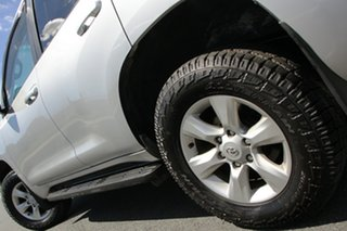 2013 Toyota Landcruiser Prado KDJ150R 11 Upgrade GXL (4x4) Silver 5 Speed Sequential Auto Wagon