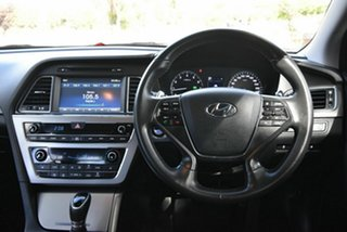 2016 Hyundai Sonata LF MY16 Elite White 6 Speed Sports Automatic Sedan