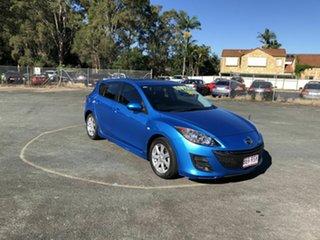 2011 Mazda 3 BL10F1 MY10 Maxx Blue 6 Speed Manual Hatchback.