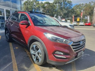 2016 Hyundai Tucson TLE Highlander AWD Red 6 Speed Sports Automatic Wagon.