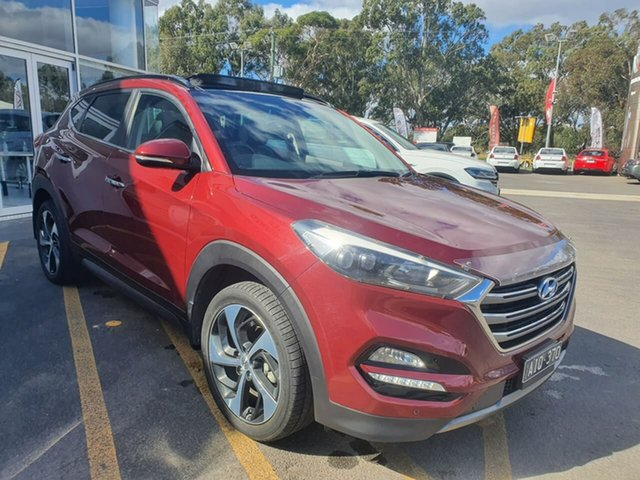 Used Hyundai Tucson TLE Highlander AWD Epsom, 2016 Hyundai Tucson TLE Highlander AWD Red 6 Speed Sports Automatic Wagon