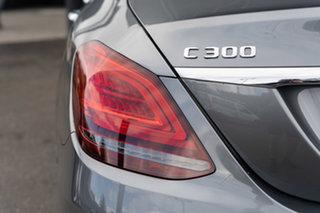2021 Mercedes-Benz C-Class W205 801MY C300 9G-Tronic Selenite Grey 9 Speed Sports Automatic Sedan