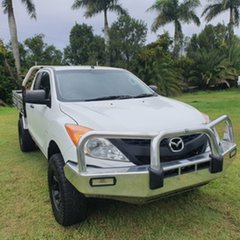 2015 Mazda BT-50 UP0YF1 XT Freestyle White 6 Speed Manual Cab Chassis.
