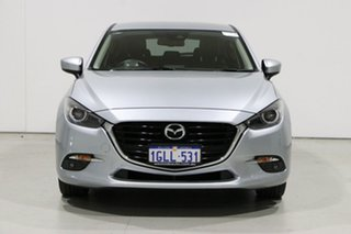 2017 Mazda 3 BN MY17 SP25 GT Silver 6 Speed Automatic Hatchback.