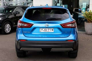 2020 Nissan Qashqai J11 Series 3 MY20 Ti X-tronic Vivid Blue 1 Speed Constant Variable Wagon.