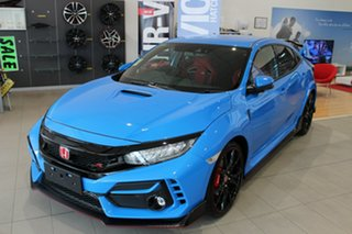 2021 Honda Civic 10th Gen MY21 Type R Racing Blue 6 Speed Manual Hatchback.