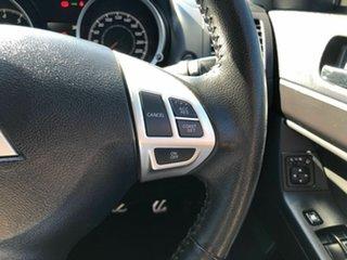 2016 Mitsubishi Lancer CF MY17 GSR Sportback White 5 Speed Manual Hatchback