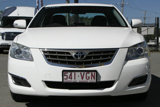 2008 Toyota Aurion GSV40R AT-X Glacier White 6 Speed Sports Automatic Sedan