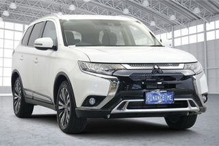 2020 Mitsubishi Outlander ZL MY20 LS 2WD White 6 Speed Constant Variable Wagon.